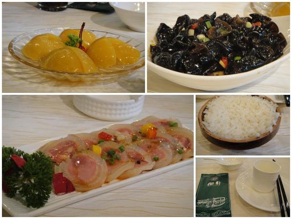 原廠帶我們吃的中餐...((忘了叫什麼名..哈..))不知是湘菜還是雲南菜..@@