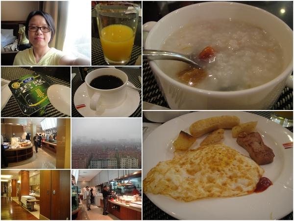 這飯店的早餐.不錯吃唷!!
