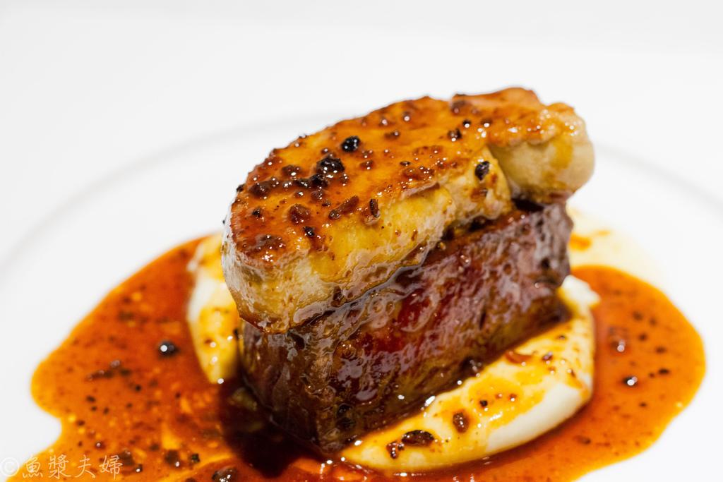 [食記] 東京 我的法義料理 吃到飽 三道菜就回本