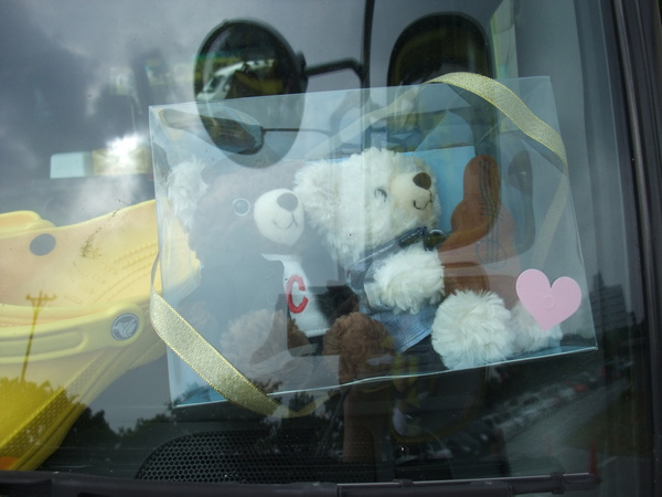 5296車車上的小淵熊