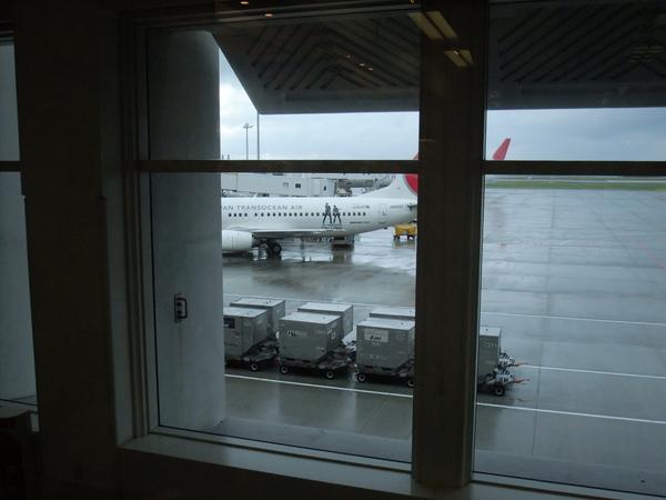 回程 竟然發現JAL專機!!!!