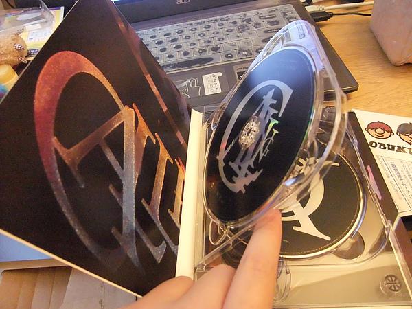 內盒就長這個樣子 DVD本身就是專輯的翻白這樣