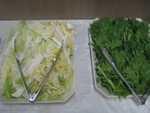 海鮮鍋新鮮蔬菜