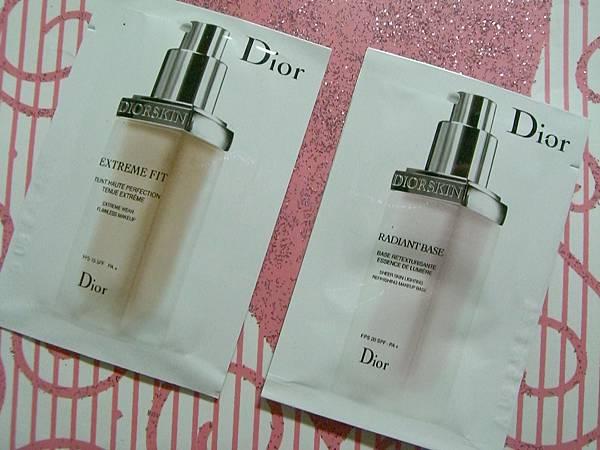 Dior底妝試用包