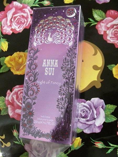 Anna Sui迷夜翎雀香水身體乳