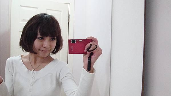 在一家日本店換的新髮型!