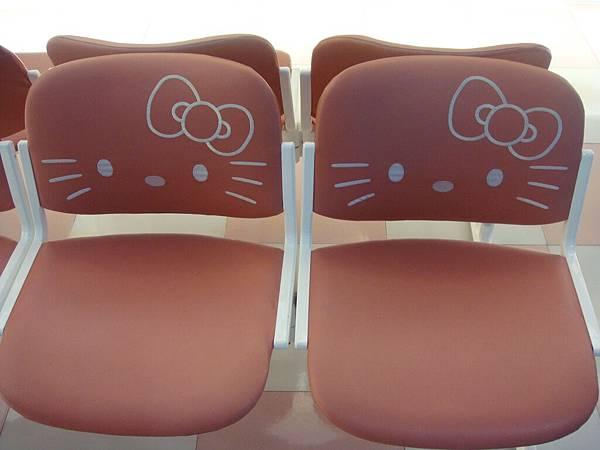 kitty椅子近照