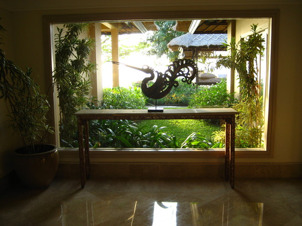 Villa的lobby
