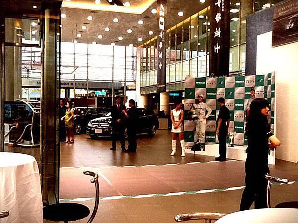 20110724今天Mercedes辦活動