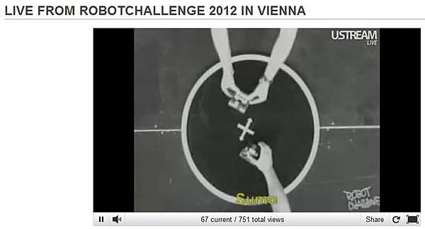 RobotChallenge 2012相撲