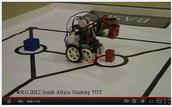 WRO 2012 South Africa Gauteng TUT