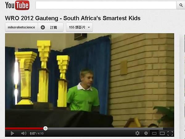 WRO 2012 Gauteng - South Africa