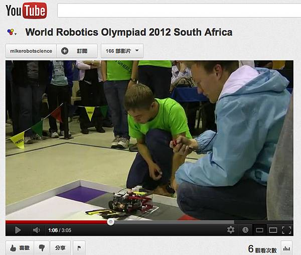World Robotics Olympiad 2012 South Africa