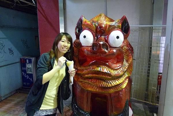 沖繩風獅爺