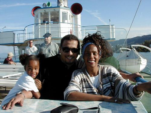 惠妮遊日內瓦湖 1999