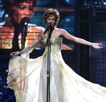 Stunning Whitney at World Music Awards