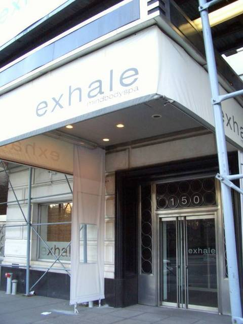 Exhale Spa!!