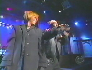 Whitney Houston Live at David Latterman Show 1998