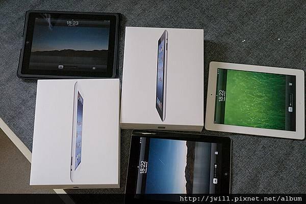 iPad 1+2+3