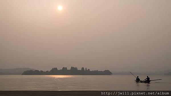 雷峰塔邊夕陽