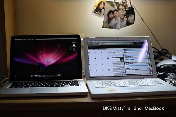 MacBook C2D 2.4G & CD1.83G