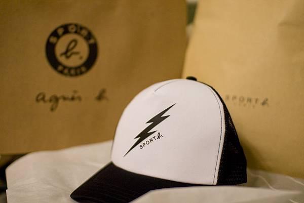 Agnes b SPORT 網帽