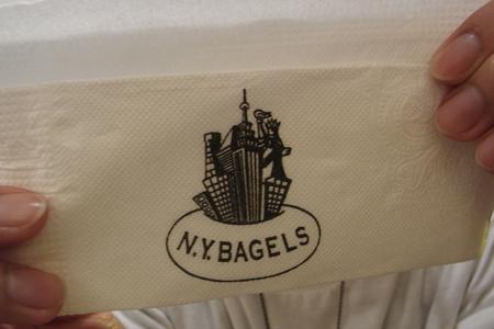 餐巾紙也要NY一下