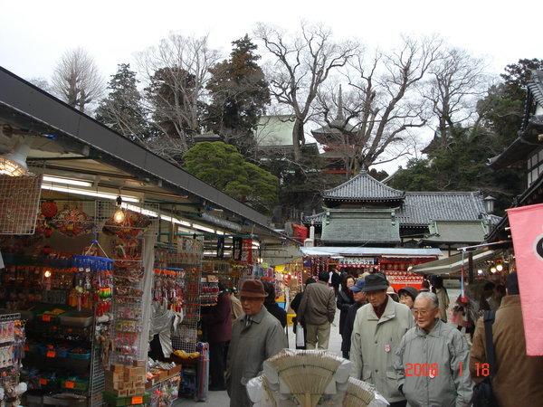成田山寺內