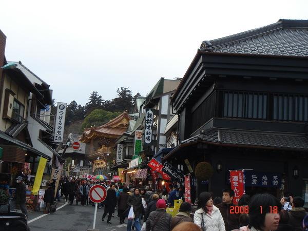 寺外商店街