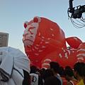 每年一定到場的氣球大獅!