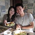 一日之際在於晨---最喜歡享受早餐的時刻...尤其...佛羅倫斯的松子青醬義大利麵好好吃喔!