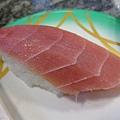 這是高級鮪魚.這一盤要450ㄟ..算了!難得來吃高級的,一定要點好的阿
