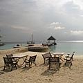 只要你想要,隨時都可以坐在這欣賞美麗的海景。