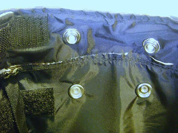 多點鈕扣固定,使籃子布固定包覆鐵籃