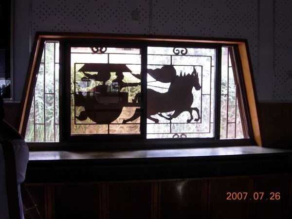 窗戶上的裝飾