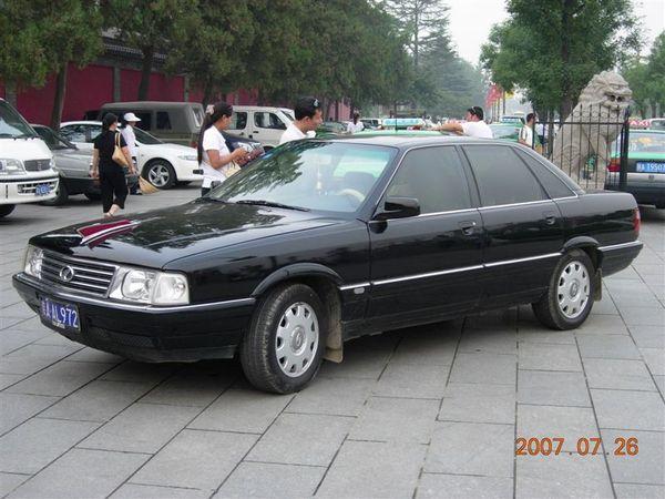 大陸的國產黑頭車
