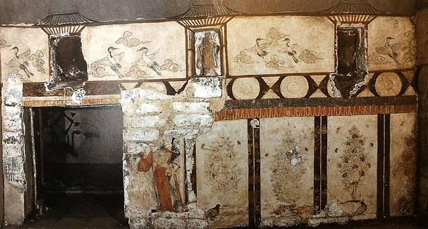 王處直墓前室