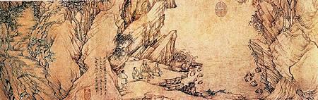 (傳)喬仲常 後赤壁圖 部分 納爾遜阿金斯美術館藏