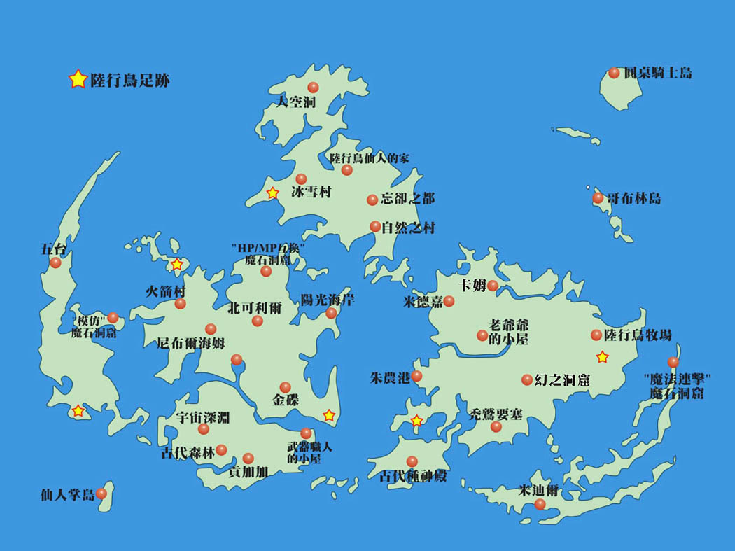 FF7世界地圖