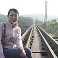 騰龍斷橋旁的舊山線鐵道