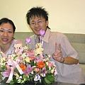 阿祥請花店插的花