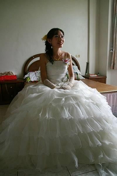 蓬蓬裙---從照片中才發現氣勢如此驚人