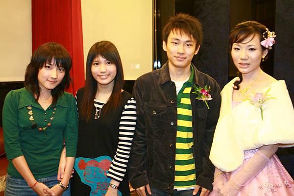 阿弟和他的女朋友,以及女朋友的朋友
