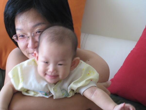 媽媽跟寶貝