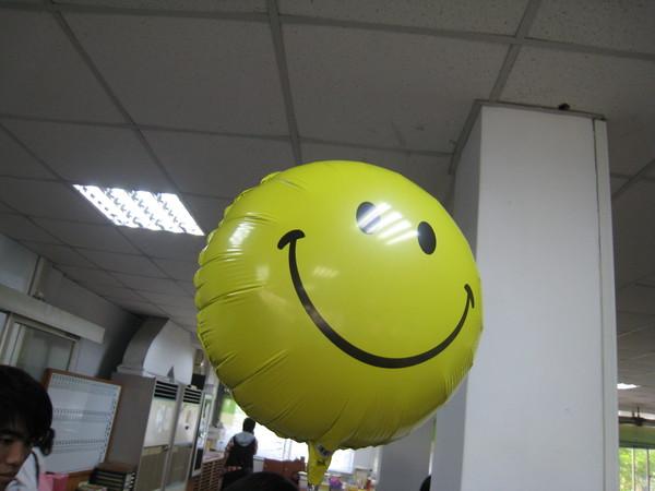 夏美大人的微笑氣球~