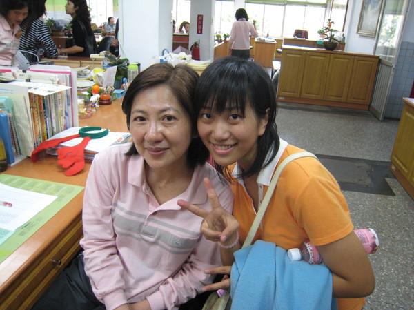我跟國文老師~