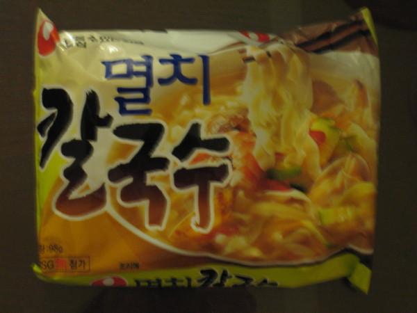 韓國的泡麵~