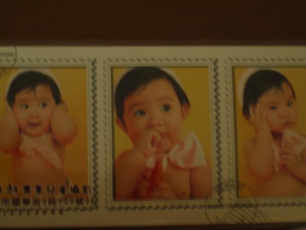 超可愛的小娃娃~~聽說是舅公朋友的小孩~