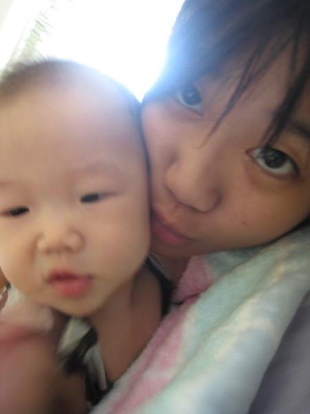 我跟妹~媽說我的眼睛真的很大~(科~)