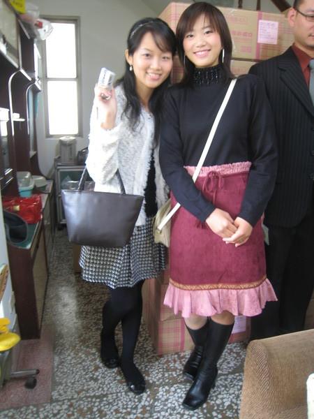 我跟大表姊~